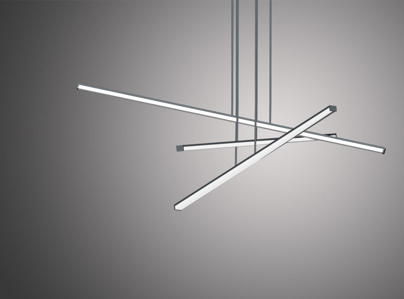 Ukázka použití SMD LED vnašem interiérovém svítidle Triglav