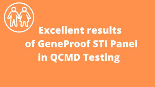 Success of GeneProof STI Panel in QCMD Testing