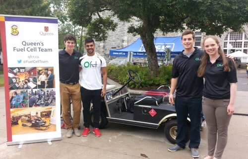 Queen's Fuel Cell Team's Amazing Projects