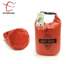 Hitorhike Ultralight Dry Bag 5 l červený