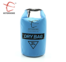 Hitorhike Ultralight Dry Bag 2 l modrý