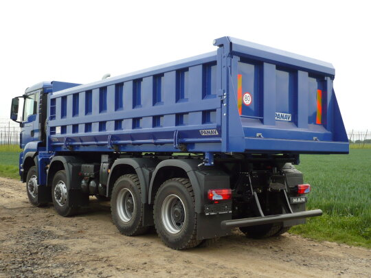 Panav tipper bodies