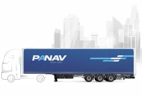 1150 - Curtainsider / Platform semitrailer for combined transport NV036M