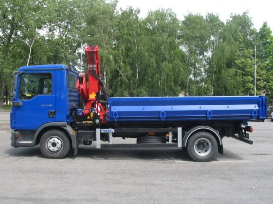 Special tipper vehicles