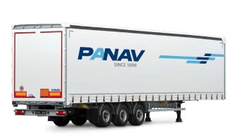 Curtainsider / Platform semi-trailer NVK35H (curtain to be customized)